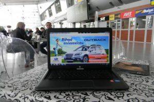 реклама wi-fi в аеропорті Львова